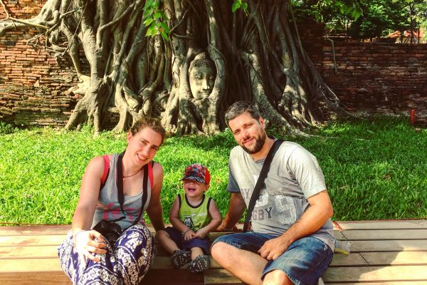 Un giorno ad Ayutthaya con un bambino