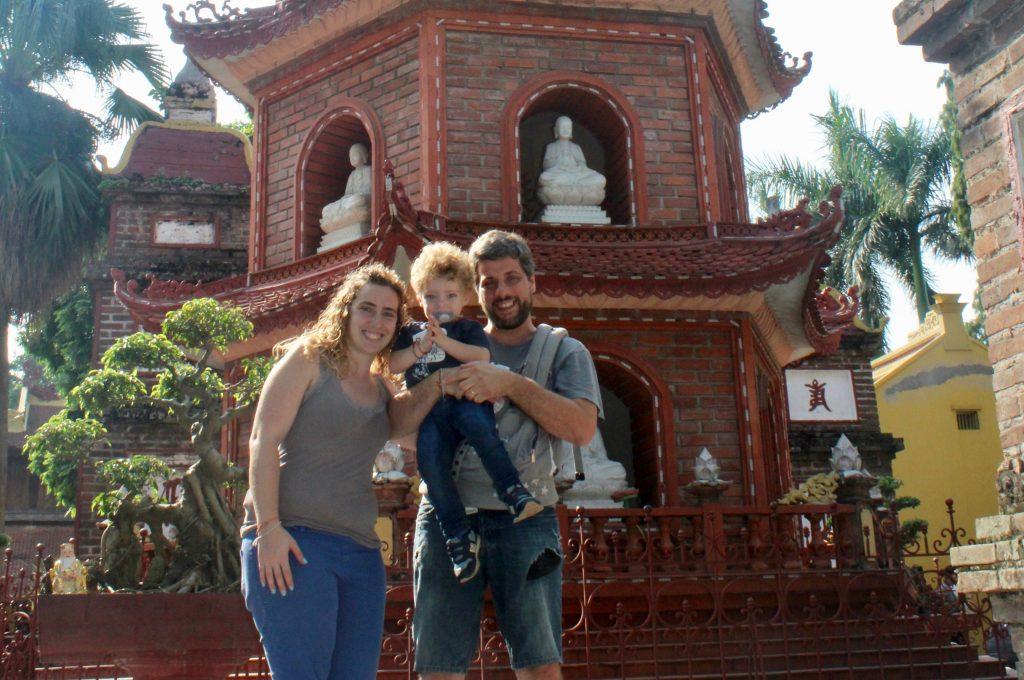 Cosa vedere ad Hanoi: pagoda Tran Quoc