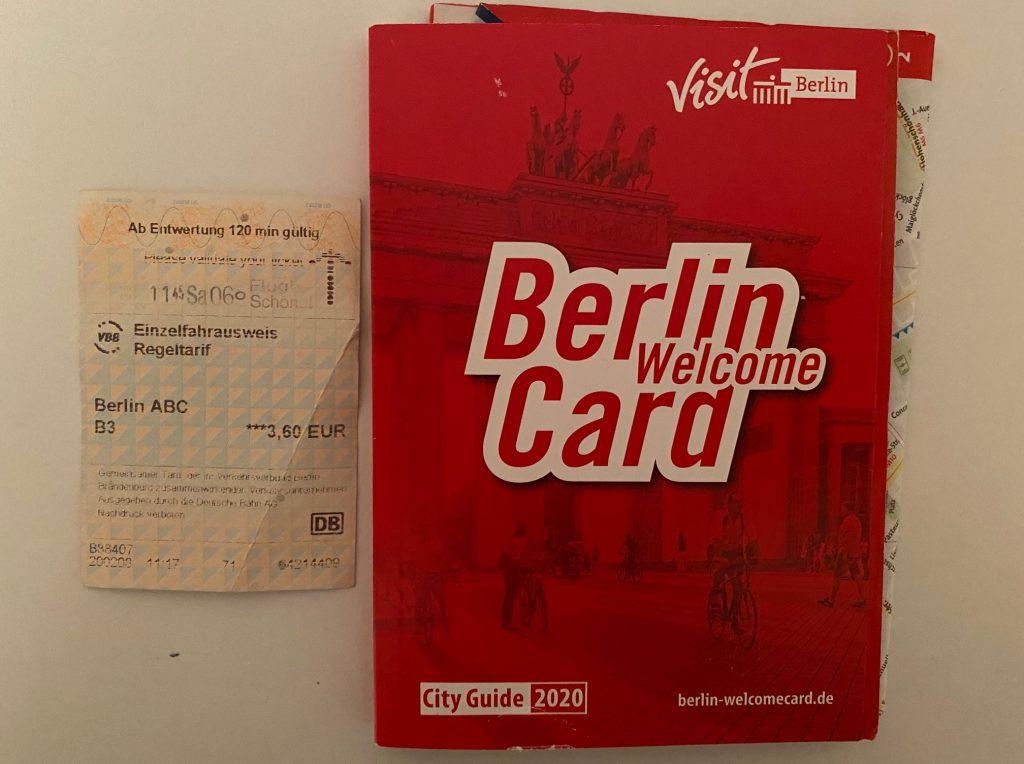 Spostamenti a Berlino: Berlin Welcome Card
