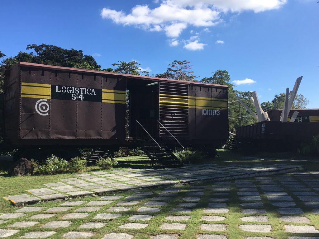 Cuba: Santa Clara, Monumento a la Toma del Tren Blindado