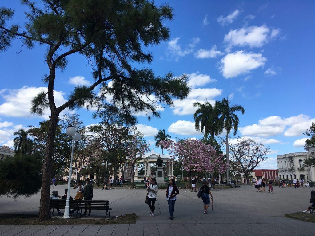 Cuba: Santa Clara, Parque Vidal