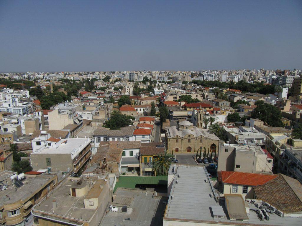 Cosa vedere a Nicosia - vista dall'osservatorio della torre di Shacolas
