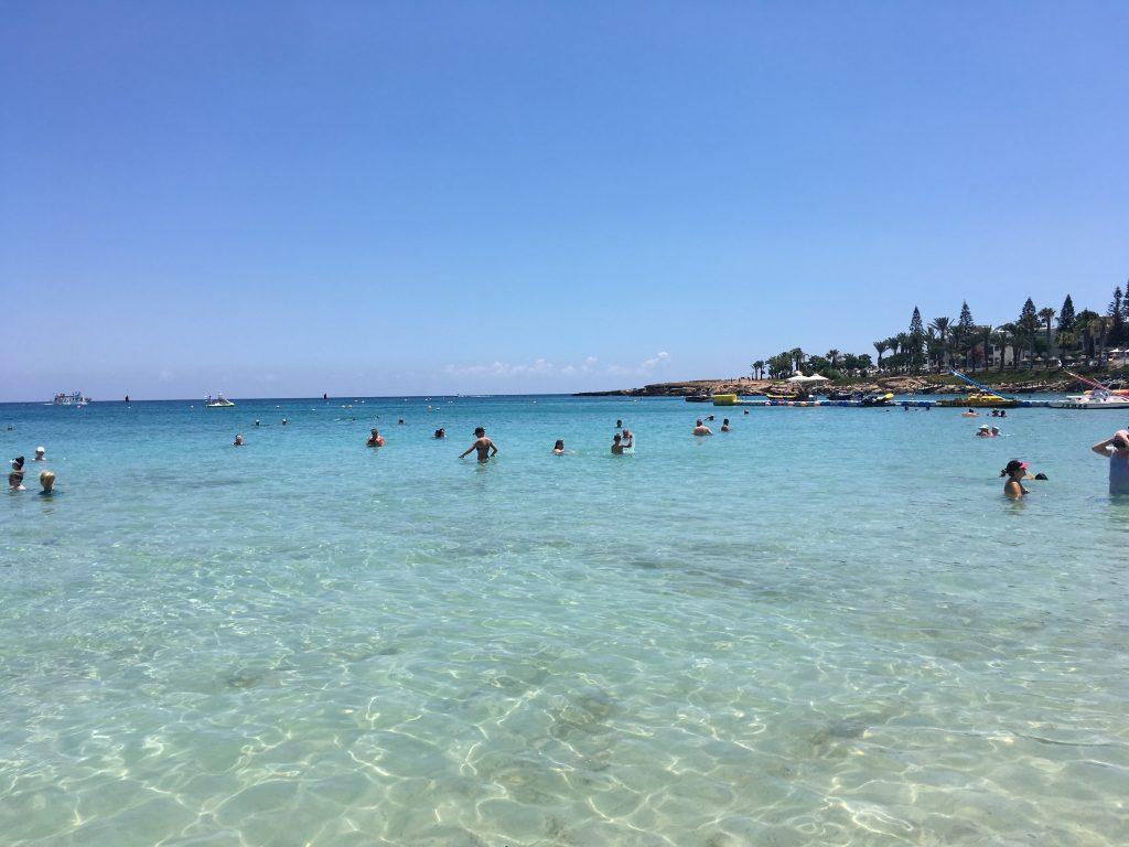 Organizzare un viaggio a Cipro -Una delle meravigliose spiagge dell'isola