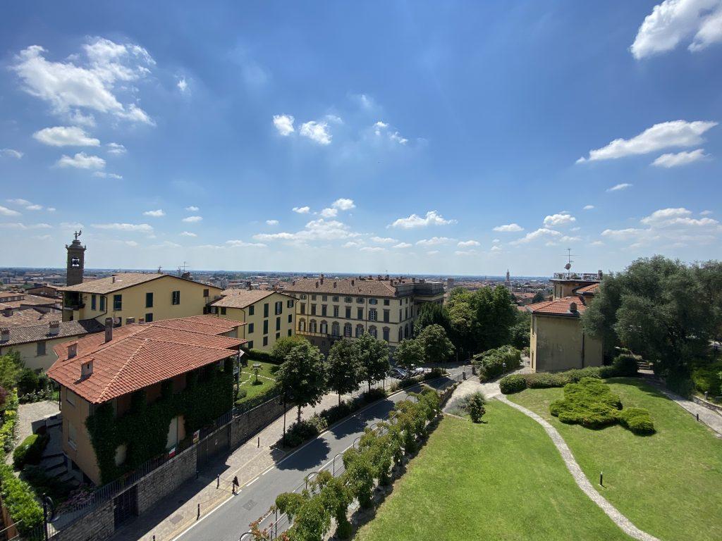 Bergamo dall'alto
