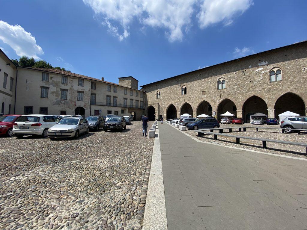 Visitare Bergamo Alta con i bambini - Cittadella viscontea