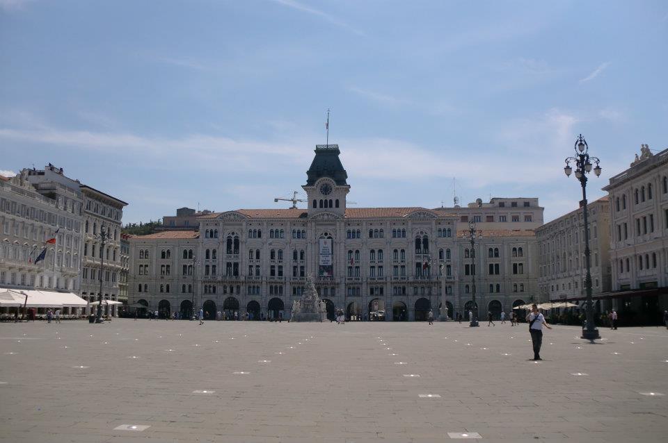 Cosa vedere a Trieste: Piazza Unità d'Italia