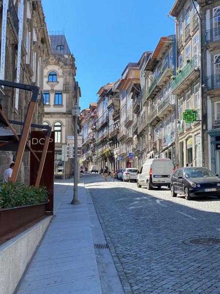 Stradina del centro di Porto