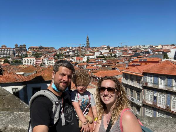 Famiglia a Porto
