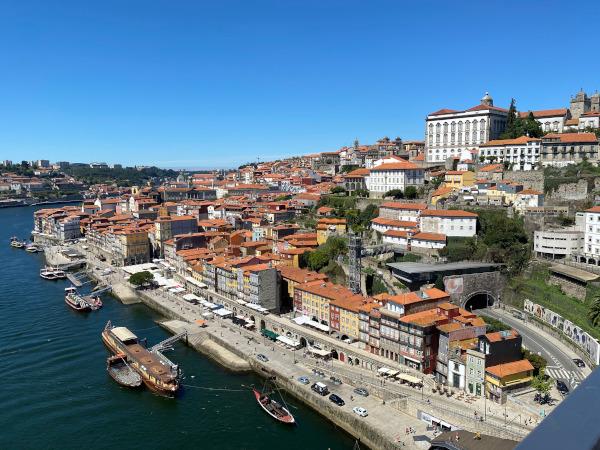 Vista dal Ponte Dom Luís I